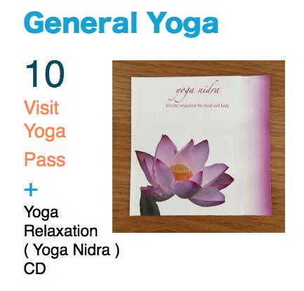 General Yoga plus 10 visit yoga pass